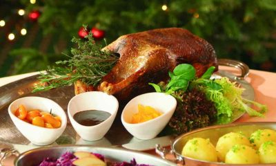 german christmas roast goose