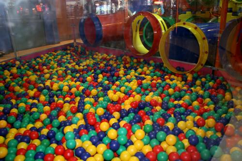 McDonald's Play Place Ball Pit Brutality