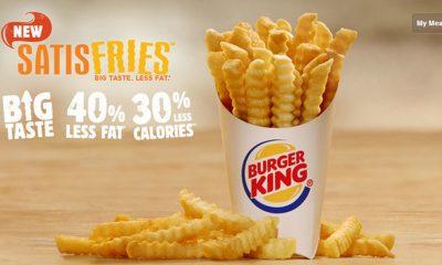 The shape of Burger King Satisfries