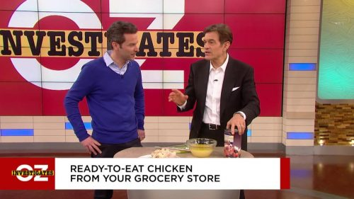 Dr. Oz says Costco rotisserie chicken is the healthiest fast food around
