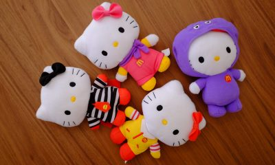 Hello kitty toys from mcdonald's