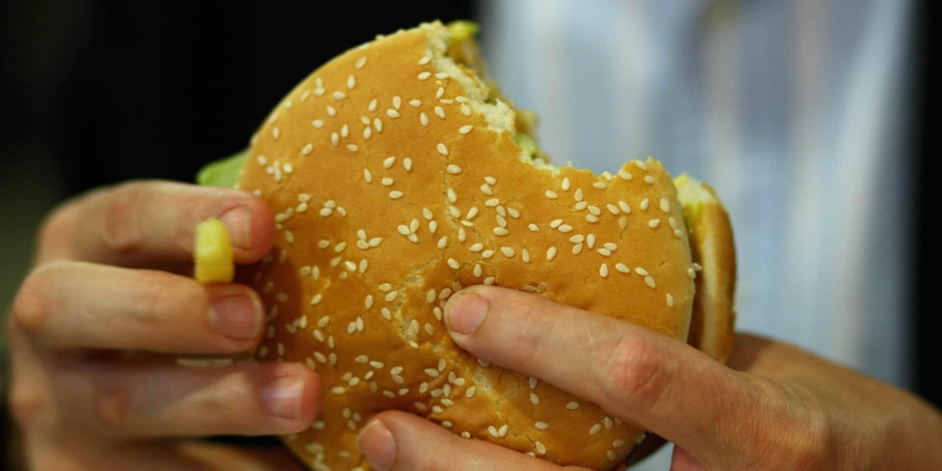 McDonald's-burger