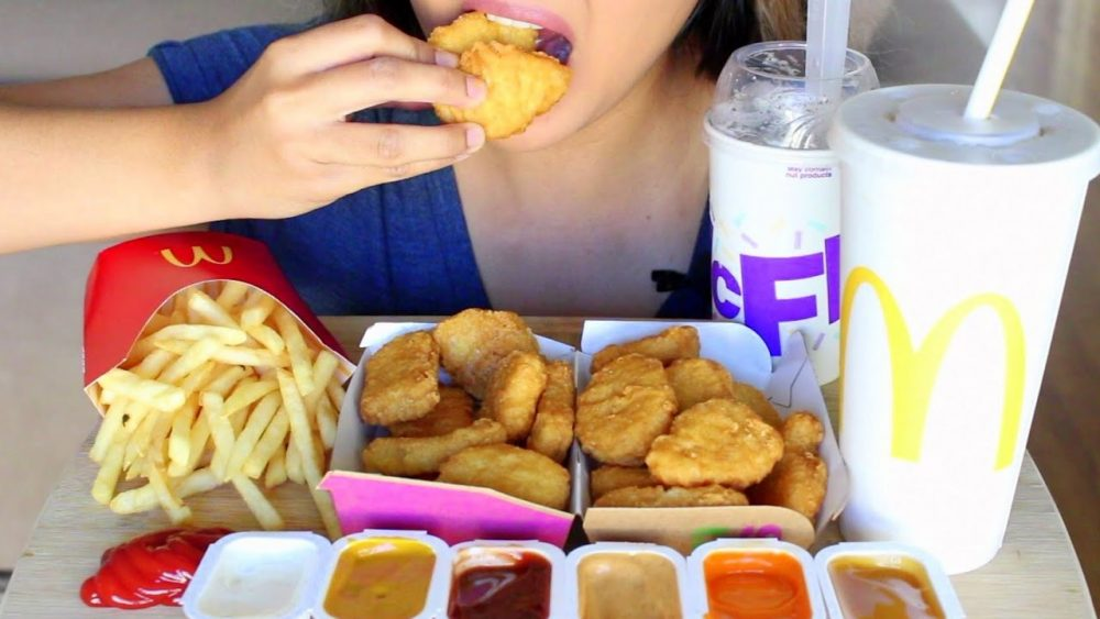 McDonald's eating squad