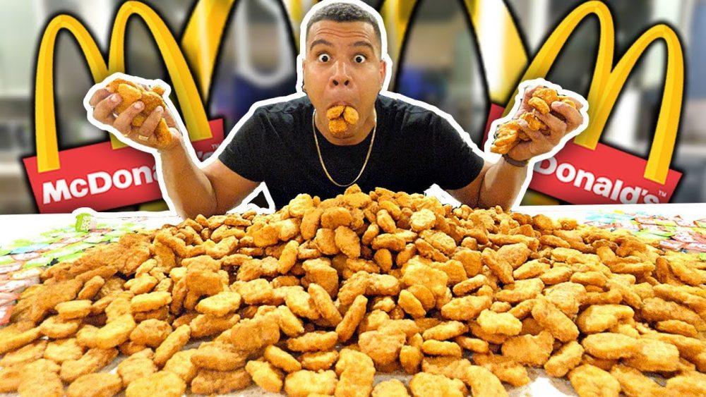 McNuggets eating challenge