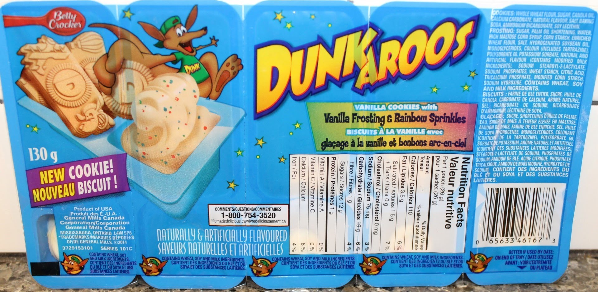 Dunkaroos package