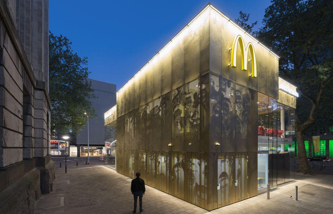 Glass McDonald's Rotterdam