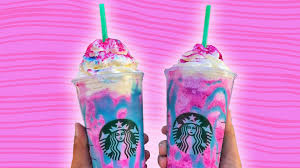 Two Starbucks Unicorn Frappuccino