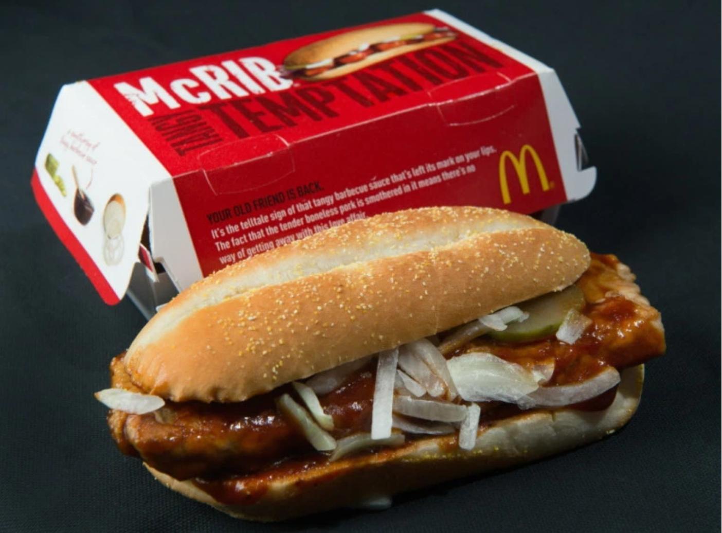 Top 10 McDonalds Secrets – McRib