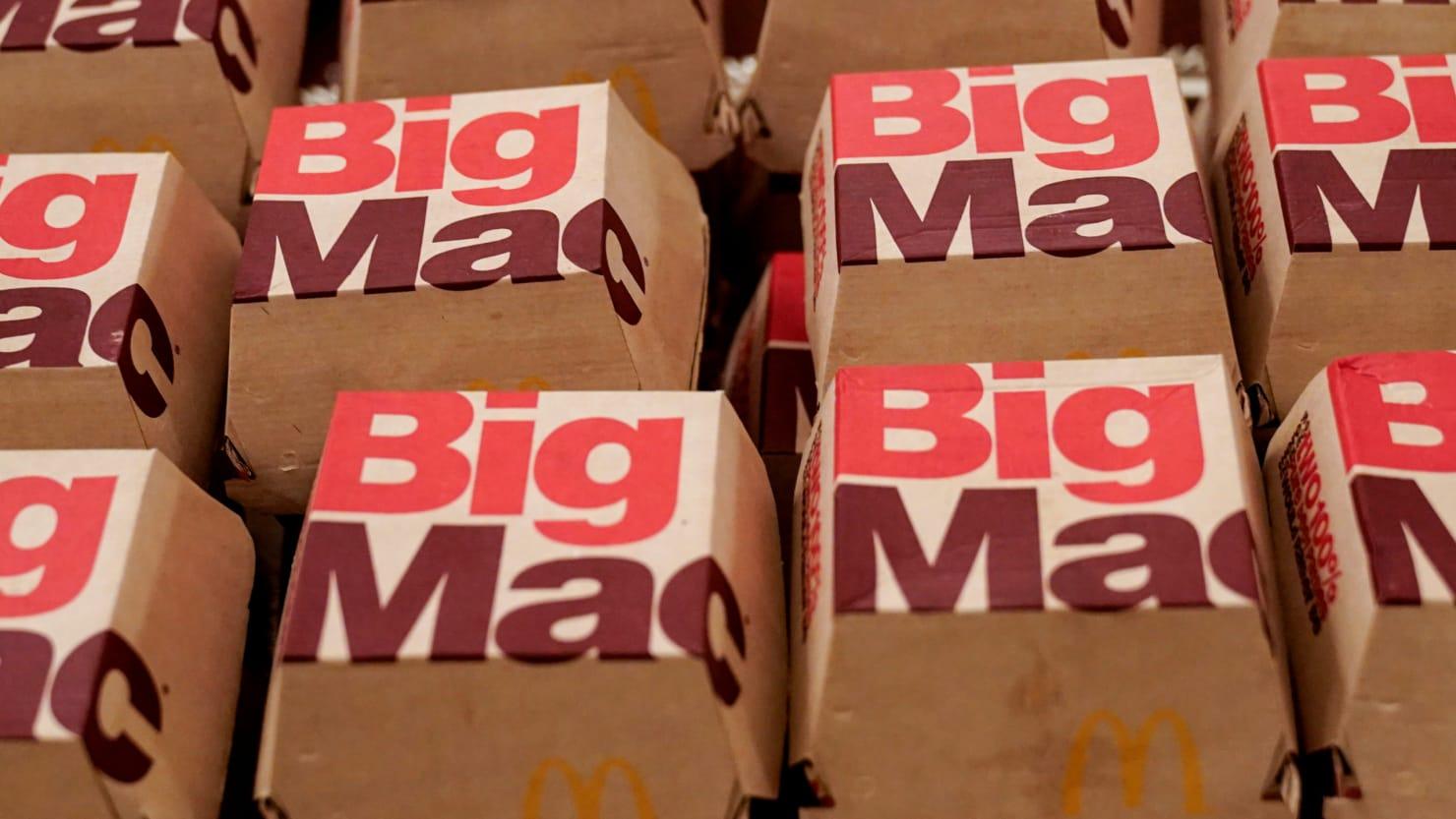 Big Mac name