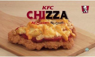 KFC Chizza ad