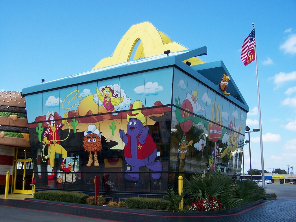 fancy dallas mcdonald's