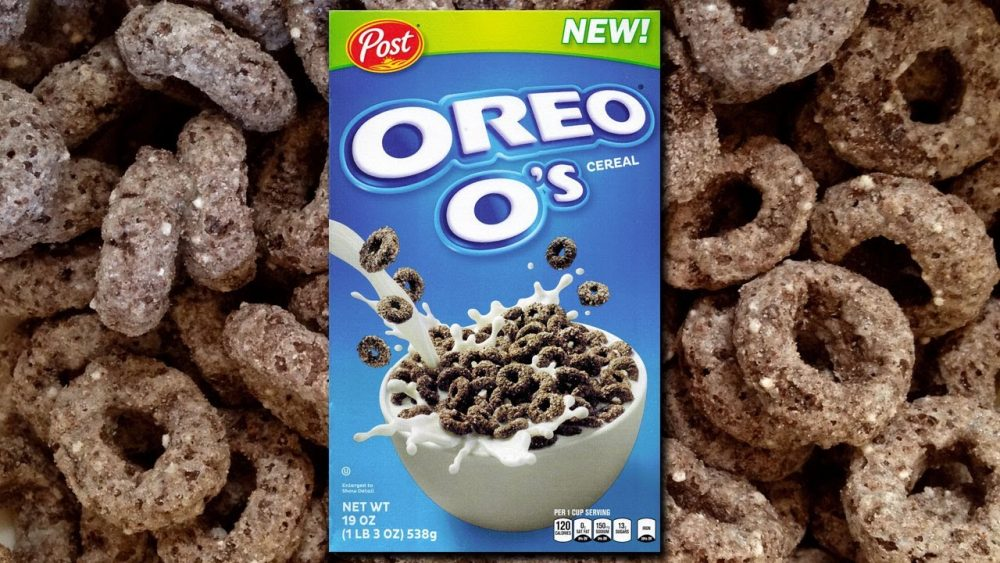 Oreo O's breakfast cereal