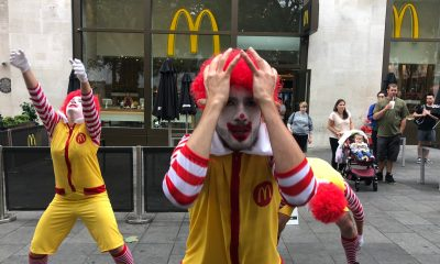McDonalds clowns anxious