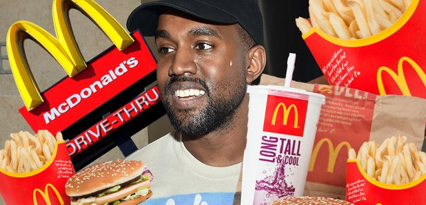 Kanye West and McDonald's