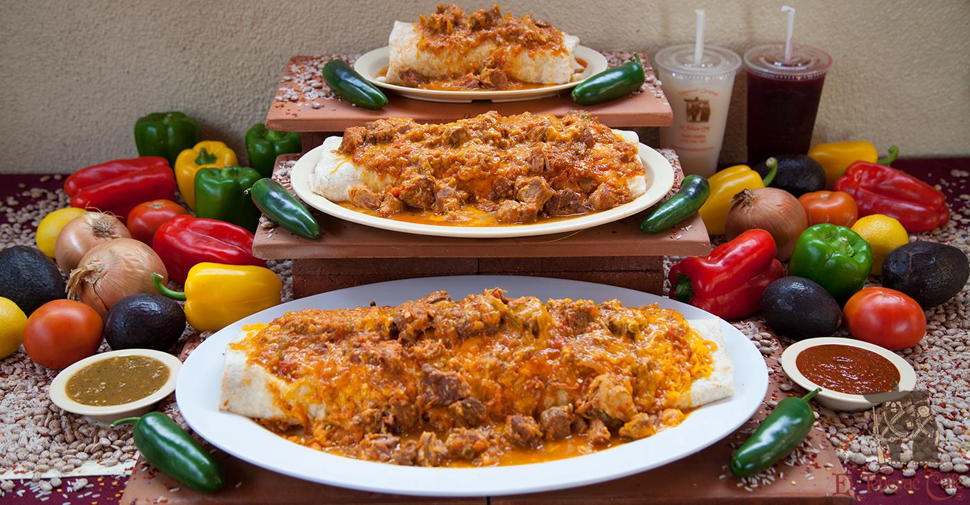 3 Burritos