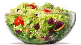 Burger King salad