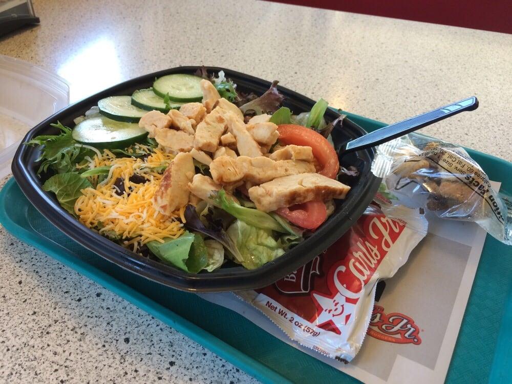 Carl's Jr salad