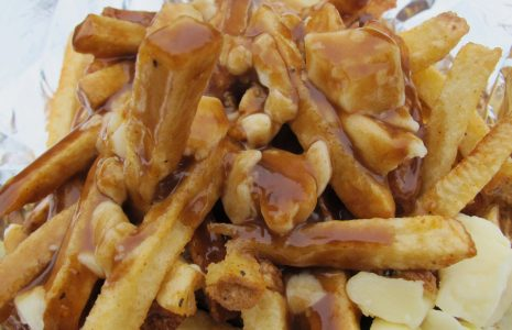 The Costco food court sells fries and gravy in Canada outlets