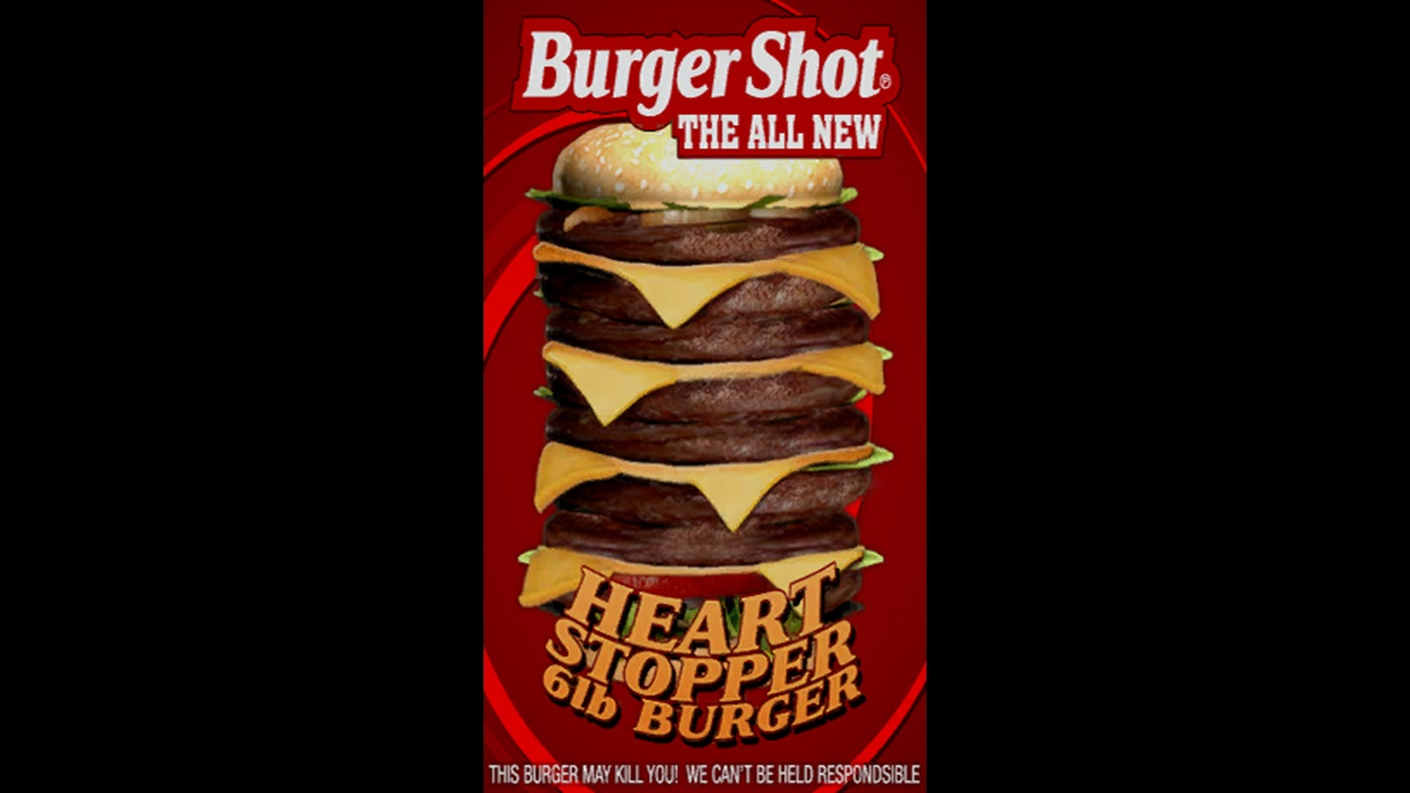 Fictional Foods Heart Stopper