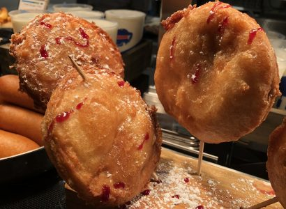 New Era Field's fried peanut butter and jelly