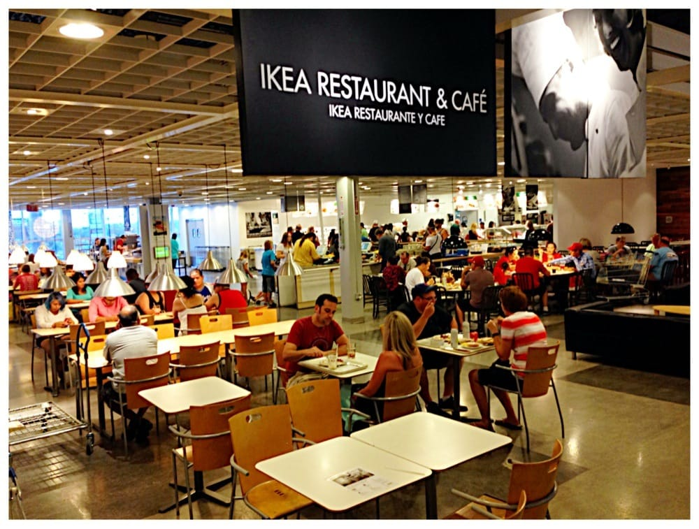 IKEA food court USA