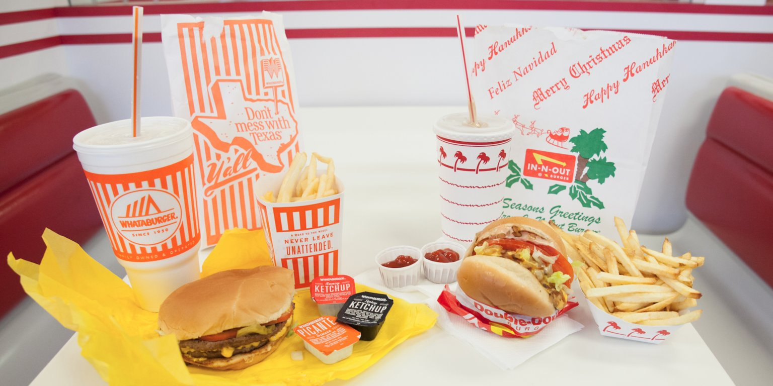In-N-Out Whataburger