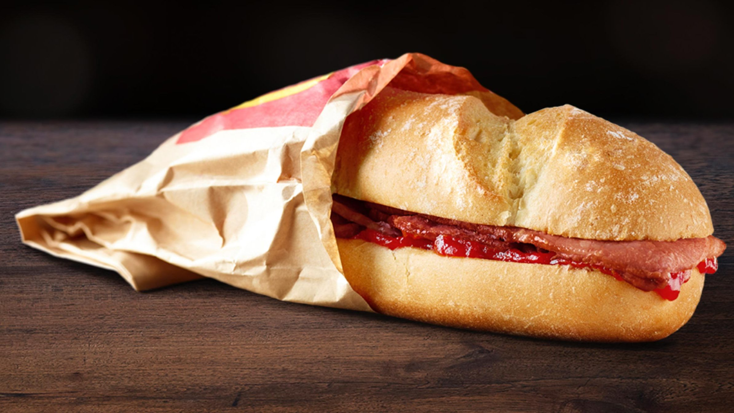 McDonald's Bacon Roll UK