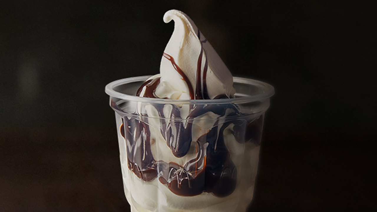 McDonald's Hot Fudge Sundae