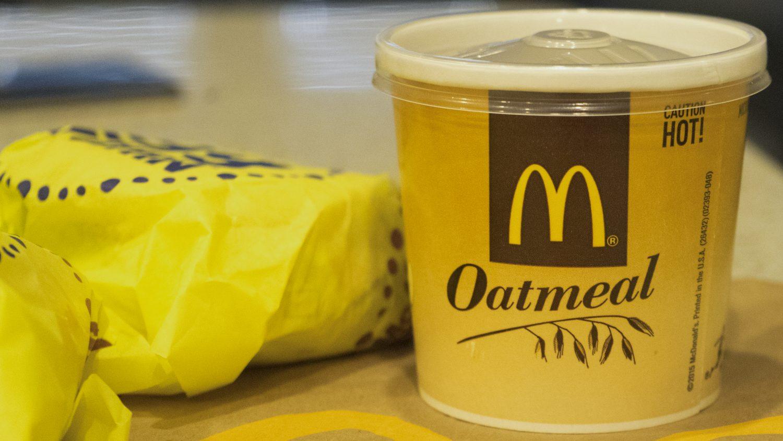 McDonald's-oatmeal