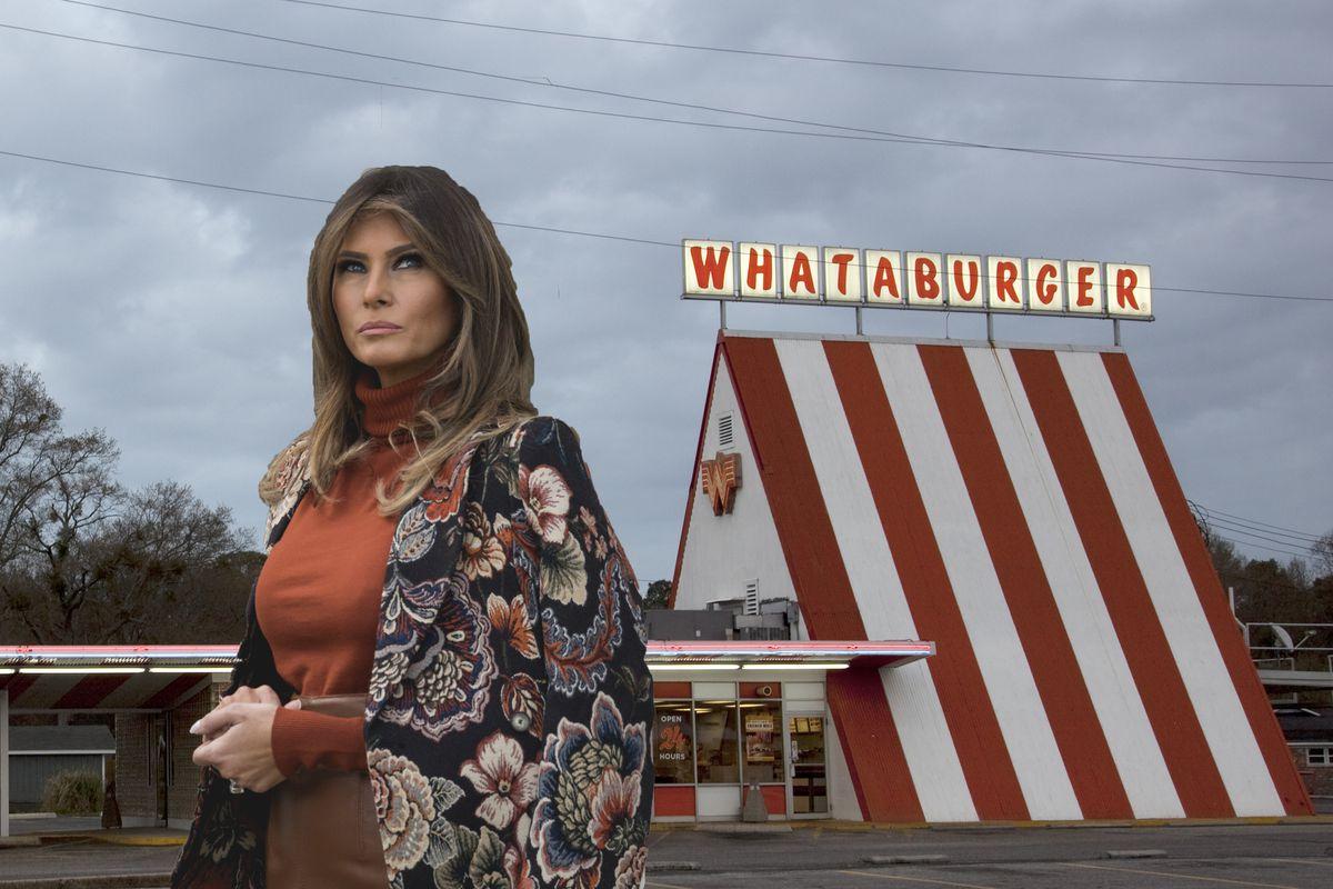 Melania Trump ate at Whataburger