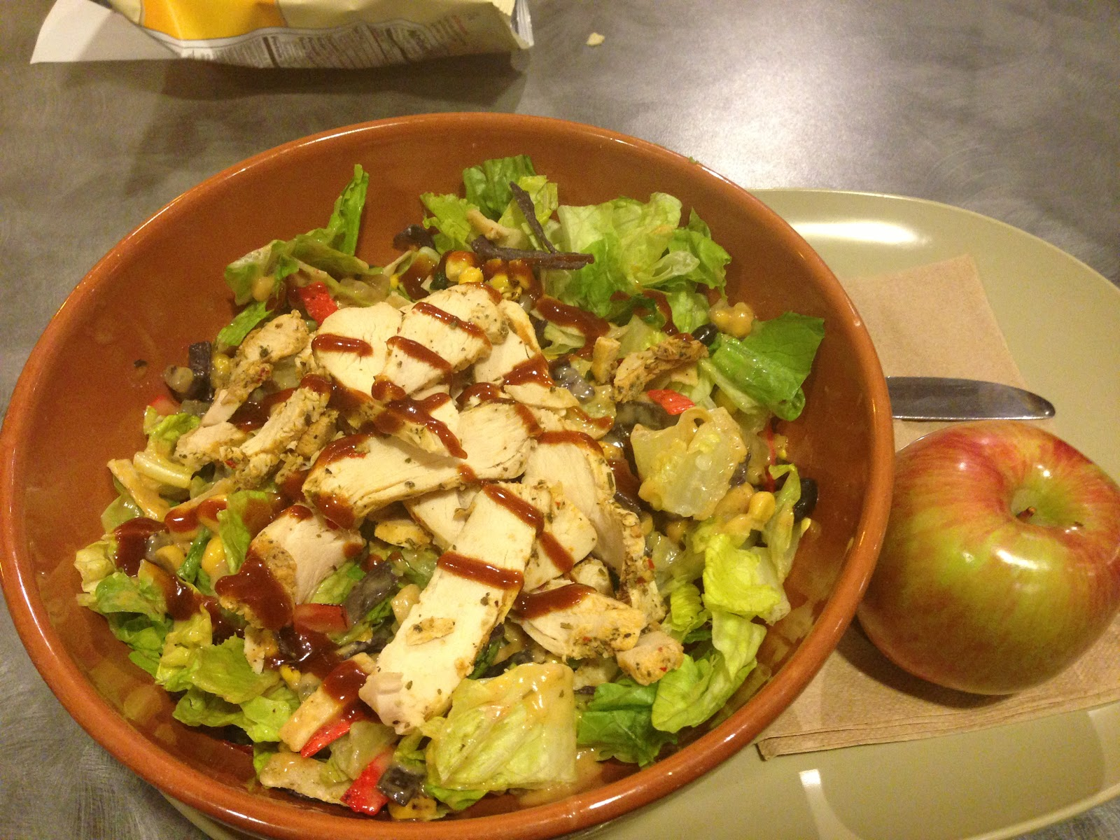 Panera Bread BPanera Bread BQ Chopped Chicken Salad