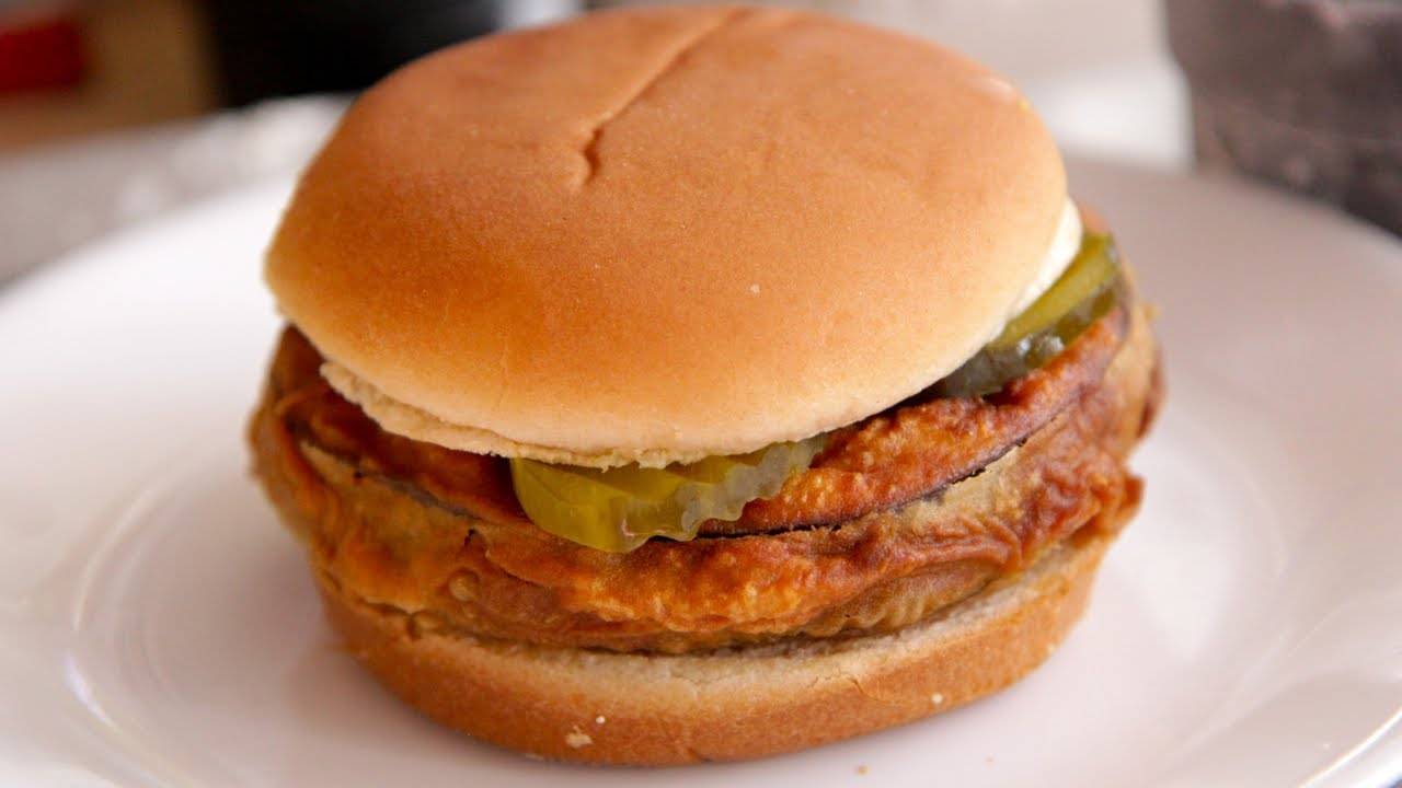Southern Style Chicken Burger