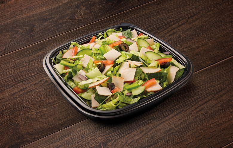 Subway Turkey Breast Salad