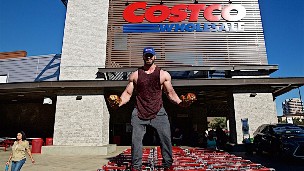 Costco Rotisserie Chicken Flexes Its Muscles