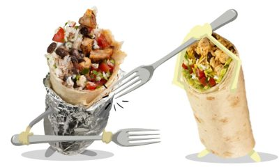 Burrito fork fight