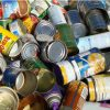 pile of various empty cans
