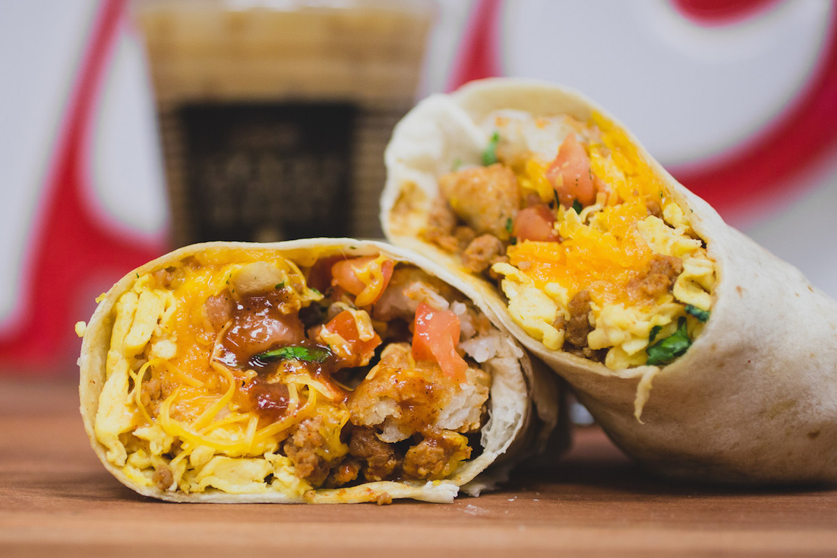 del taco chorizo burritos