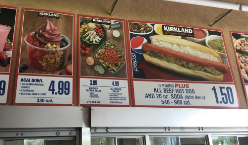 The Costco food court menu is changing soon, to a Costco near you