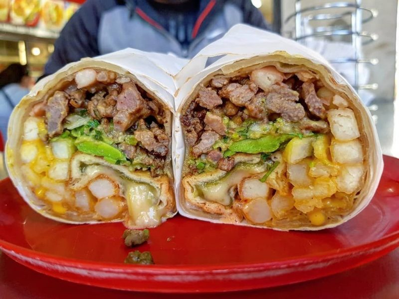 Double California Burrito