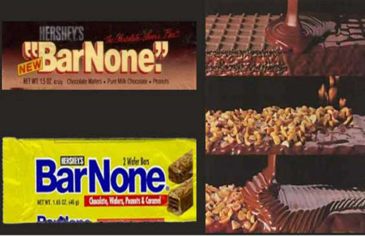 Hershey's bar none