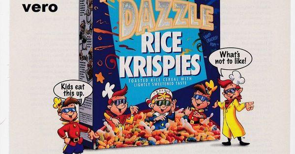 razzle dazzles rice krispies box