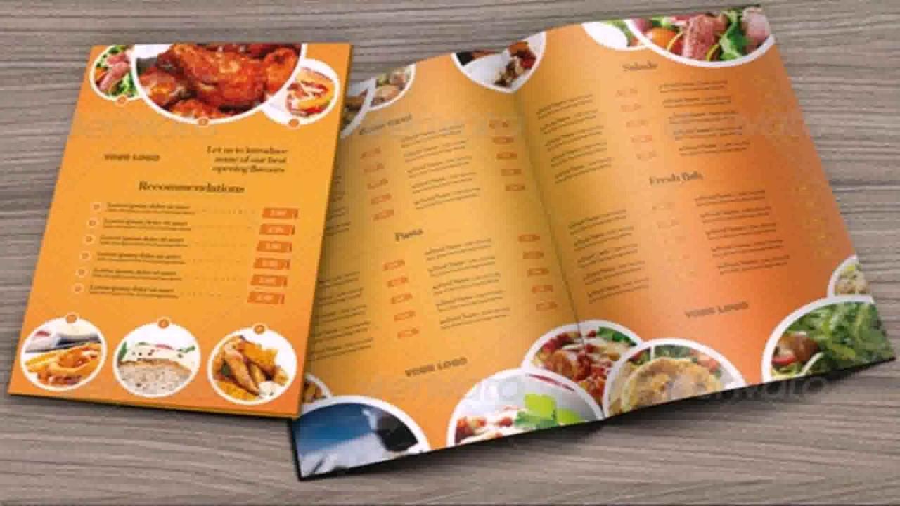 restaurant menu 1