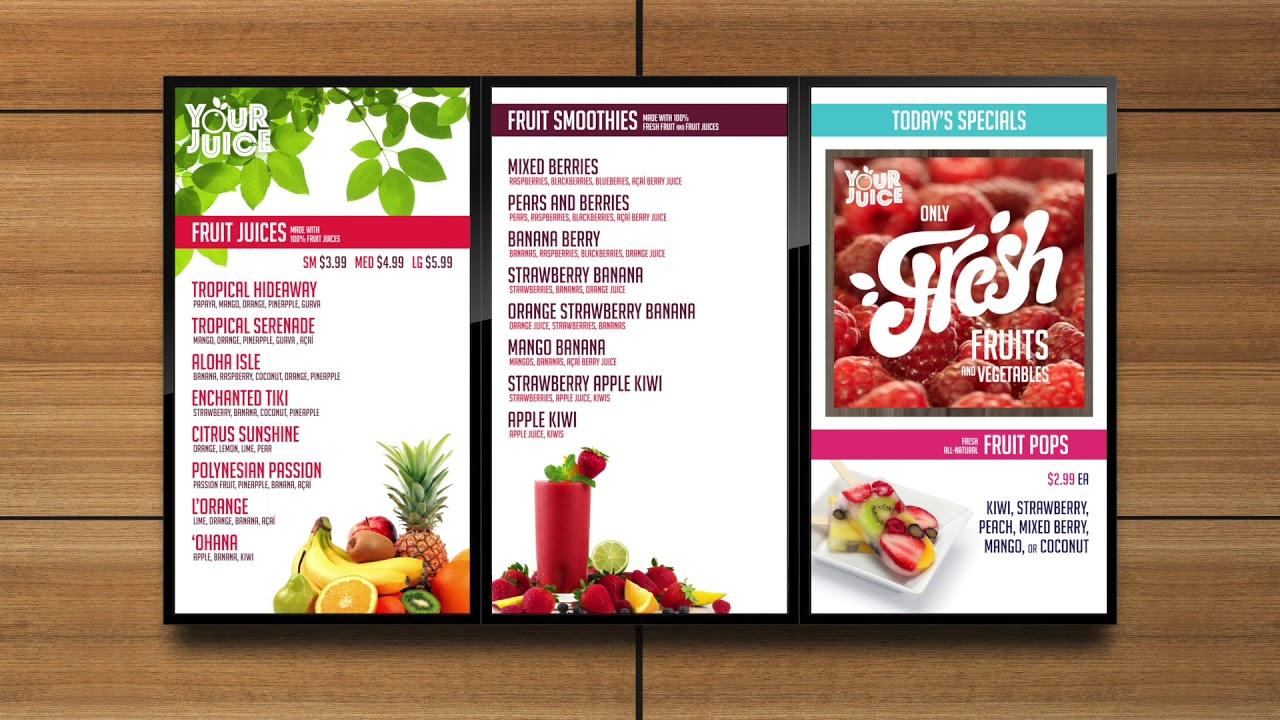 restaurant menu 8