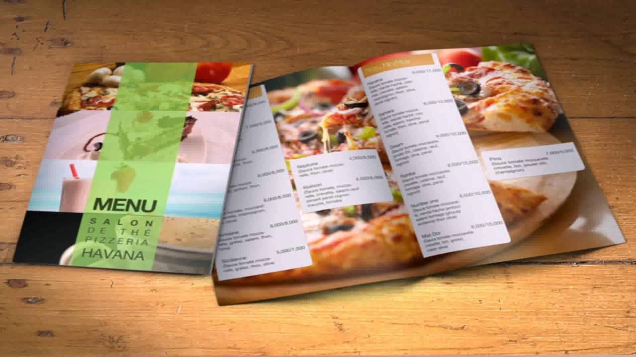 restauraunt menu 5