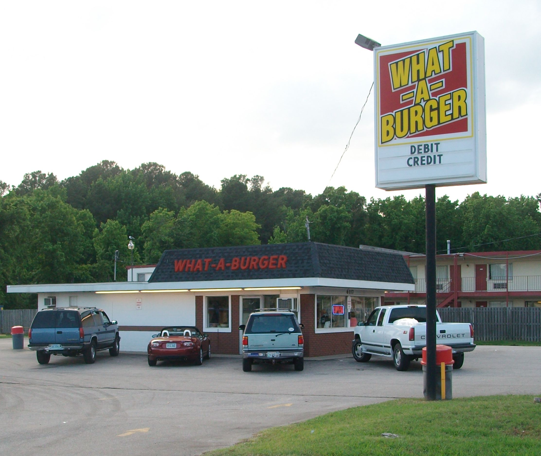 What a burger restaurant
