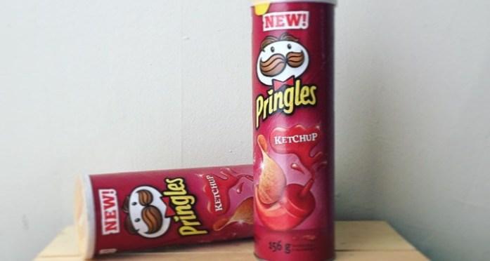 2. Ketchup Pringles
