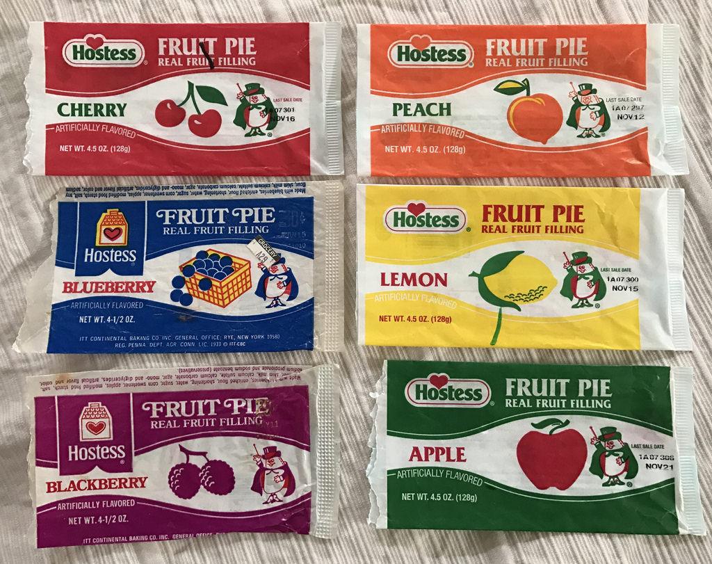 original hostess fruit pies