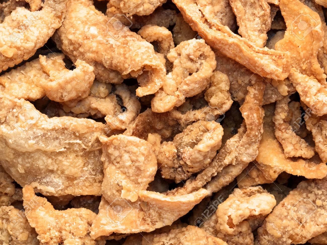 Deep Fried Chicken Skin
