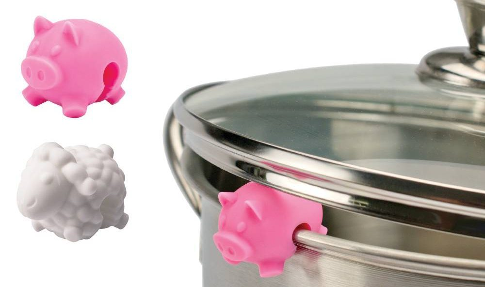 pig lifting pot lid, chicken pig and sheep farm animal pot lid lifts