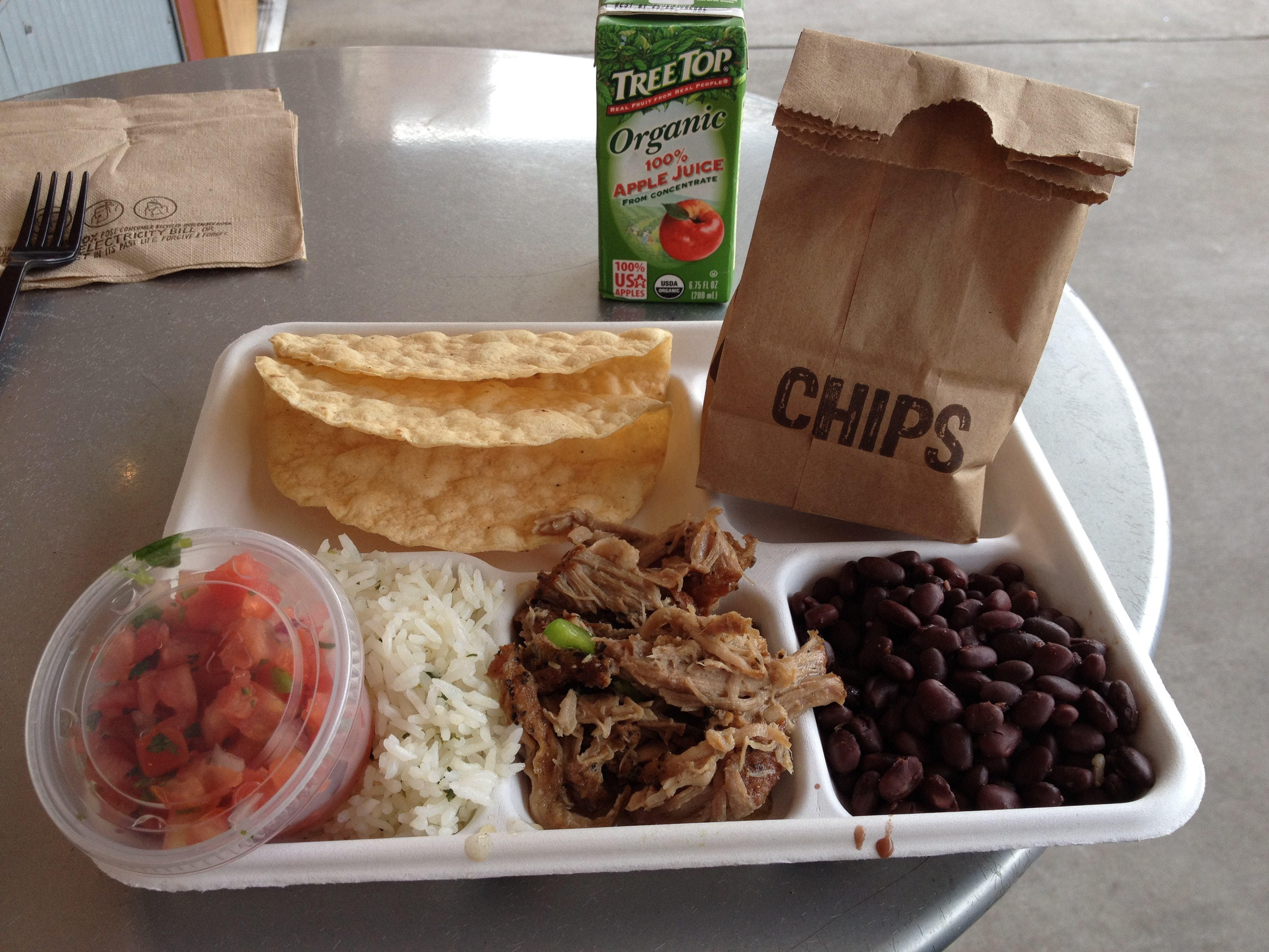 Chipotle's Two Taco Kit